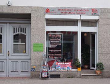 Ansicht von Ladeneingang Kamin Berlin Brandenburg
