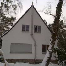 Edelstahlschornstein für einen Kamin in Berlin
