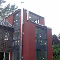 Schornsteinanlage für Kamine in Berlin